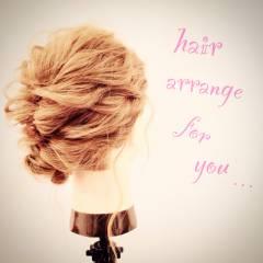 ウェーブ ストリート アップスタイル ヘアアレンジ ヘアスタイルや髪型の写真・画像