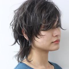 ダブルカラー ストリート ウルフカット 外国人風 ヘアスタイルや髪型の写真・画像
