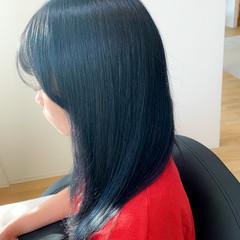 ガーリー 透明感カラー ロング ブリーチ ヘアスタイルや髪型の写真・画像