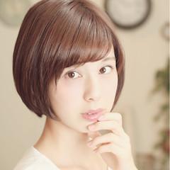 田中美保 愛され ナチュラル ボブ ヘアスタイルや髪型の写真・画像
