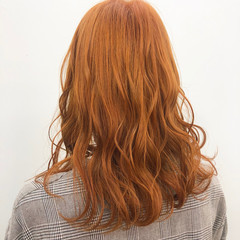セミロング ヘアカラー ストリート 外国人風カラー ヘアスタイルや髪型の写真・画像
