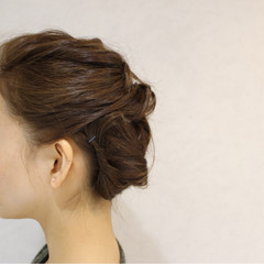 ヘアアレンジ ミディアム 大人かわいい 外国人風 ヘアスタイルや髪型の写真・画像