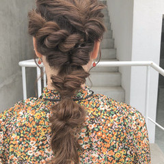 涼しげ ナチュラル 成人式 ロング ヘアスタイルや髪型の写真・画像