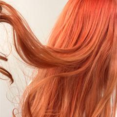 ストリート 冬 ロング 秋 ヘアスタイルや髪型の写真・画像