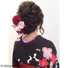 袴 ゆるふわ アッシュ 花嫁 ヘアスタイルや髪型の写真・画像
