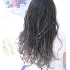 ブルージュ グラデーションカラー アッシュ 大人かわいい ヘアスタイルや髪型の写真・画像