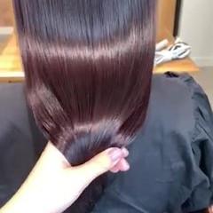 髪質改善トリートメント 透明感カラー ロング ナチュラル ヘアスタイルや髪型の写真・画像