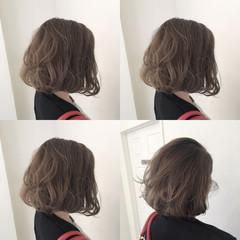 透明感 外国人風 色気 ボブ ヘアスタイルや髪型の写真・画像