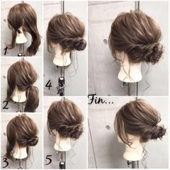 色気 リラックス 夏 セミロング ヘアスタイルや髪型の写真・画像