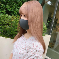 ゆるナチュラル ナチュラル可愛い ピンク フェミニン ヘアスタイルや髪型の写真・画像