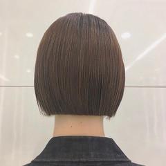切りっぱなしボブ ナチュラル ミニボブ ボブ ヘアスタイルや髪型の写真・画像