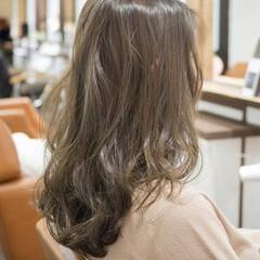 デート グレージュ 外国人風 かわいい ヘアスタイルや髪型の写真・画像