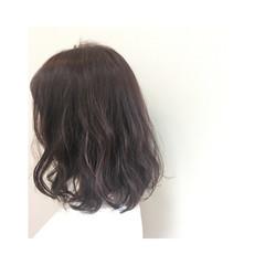 ナチュラル 春 グレージュ ラベンダーアッシュ ヘアスタイルや髪型の写真・画像