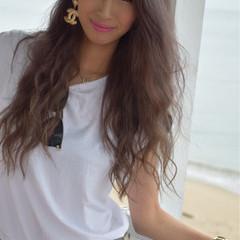マーメイドアッシュ 外国人風 ストリート ロング ヘアスタイルや髪型の写真・画像