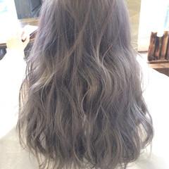 外国人風 ハイライト アッシュ ストリート ヘアスタイルや髪型の写真・画像