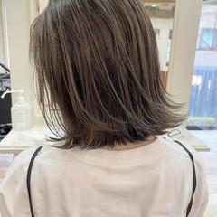 切りっぱなしボブ ショートヘア ボブ エレガント ヘアスタイルや髪型の写真・画像