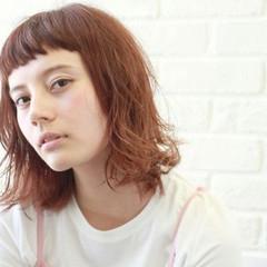 外国人風 抜け感 フェミニン ボブ ヘアスタイルや髪型の写真・画像