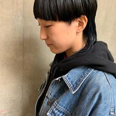 ショートヘア モード ボブ ショートボブ ヘアスタイルや髪型の写真・画像
