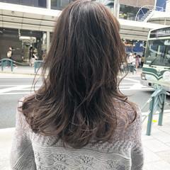 大人女子 セミロング ミディアム レイヤーカット ヘアスタイルや髪型の写真・画像
