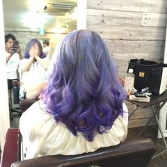 ブルー ストリート 個性的 渋谷系 ヘアスタイルや髪型の写真・画像