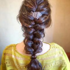 結婚式 ヘアアレンジ ロング お呼ばれ ヘアスタイルや髪型の写真・画像