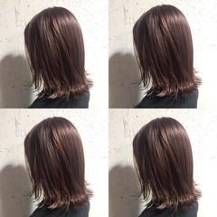 レッド レッドカラー 透明感カラー ボブ ヘアスタイルや髪型の写真・画像