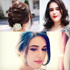 外国人風 くせ毛風 ショート コンサバ ヘアスタイルや髪型の写真・画像