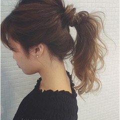 簡単ヘアアレンジ ラフ かっこいい 簡単 ヘアスタイルや髪型の写真・画像