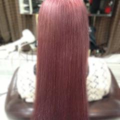 ベージュ 個性的 ロング 原宿系 ヘアスタイルや髪型の写真・画像