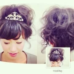モテ髪 コンサバ アップスタイル ヘアアレンジ ヘアスタイルや髪型の写真・画像