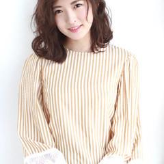エレガント 女子会 オフィス パーマ ヘアスタイルや髪型の写真・画像