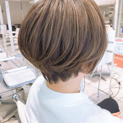 ショートヘア ミニボブ ボブ ショートボブ ヘアスタイルや髪型の写真・画像