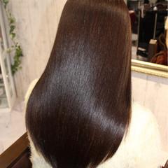 ストレート ナチュラル 艶髪 トリートメント ヘアスタイルや髪型の写真・画像