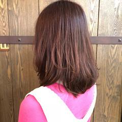 ピンク キュート ナチュラル ゆるふわ ヘアスタイルや髪型の写真・画像