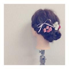 結婚式 愛され フェミニン ロング ヘアスタイルや髪型の写真・画像