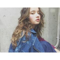 モテ髪 透明感 愛され ロング ヘアスタイルや髪型の写真・画像