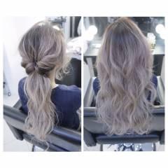 ウェーブ ゆるふわ ストリート 秋 ヘアスタイルや髪型の写真・画像