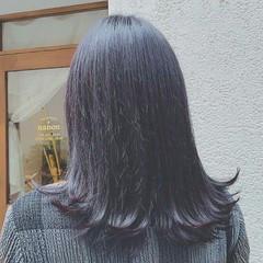 外国人風 ロング 外ハネ 春 ヘアスタイルや髪型の写真・画像