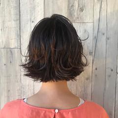 ナチュラル ヘアアレンジ ショートボブ ショート ヘアスタイルや髪型の写真・画像