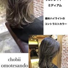 ニュアンスウルフ ウルフカット マッシュウルフ ナチュラルウルフ ヘアスタイルや髪型の写真・画像