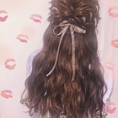 女子会 ヘアアレンジ 結婚式 デート ヘアスタイルや髪型の写真・画像