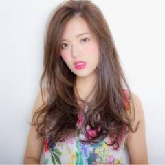 フェミニン 大人かわいい モテ髪 ゆるふわ ヘアスタイルや髪型の写真・画像