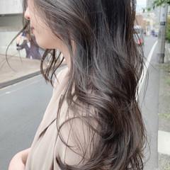ナチュラル 大人可愛い ベージュ 透明感カラー ヘアスタイルや髪型の写真・画像