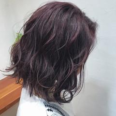 ハイライト 艶髪 ボブ モテ髪 ヘアスタイルや髪型の写真・画像