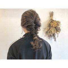 アンニュイほつれヘア ヘアアレンジ ハイライト 簡単ヘアアレンジ ヘアスタイルや髪型の写真・画像