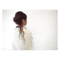 大人女子 簡単ヘアアレンジ ゆるふわ ヘアアレンジ ヘアスタイルや髪型の写真・画像