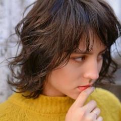 外国人風 ストリート 冬 大人女子 ヘアスタイルや髪型の写真・画像