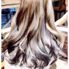 モード ロング グラデーションカラー パンク ヘアスタイルや髪型の写真・画像