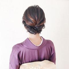 着物 和装ヘア 結婚式ヘアアレンジ 結婚式 ヘアスタイルや髪型の写真・画像
