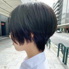 大人ショート ミニボブ ショートボブ ショートヘア ヘアスタイルや髪型の写真・画像